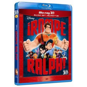 ¡Rompe Ralph! - Blu-Ray + 3D