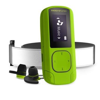 MP3 Bluetooth Energy Sistem Clip Sport 16GB Verde