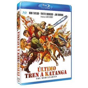 El último tren a Katanga - Blu-Ray