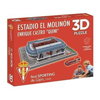 Puzzle Estadio 3D El Molinón Sporting de Gijón