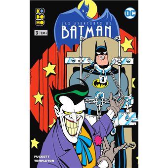 Las aventuras de Batman 3 grapa