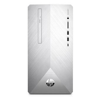 Sobremesa HP Pavilion PC 595-p0014ns Plata