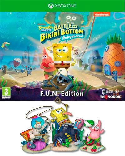 Bob Esponja SquarePants:Battle for Bikini Bottom Rehydrated - Edición F.U.N Xbox One