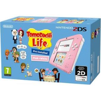 Consola Nintendo 2DS Rosa + Tomodachi Life