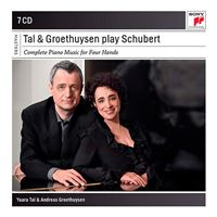 Box Set Schubert - Complete Piano Music for Four Hands - 7 CD