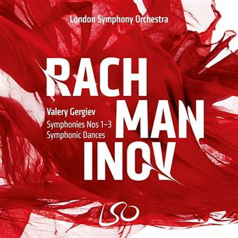 Rachmaninov - Symphonies No. 1-3 - 3 CD + Blu-Ray