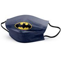 Mascarilla infantil Luanvi higiénica reutilizable Batman Talla 3-7 años