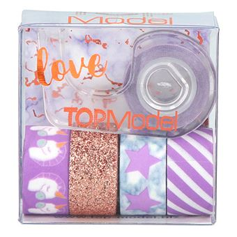 Cinta adhesiva de decoración Top Model Deko Tape Oro
