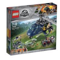 LEGO Jurassic World - Persecución en helicóptero de Blue