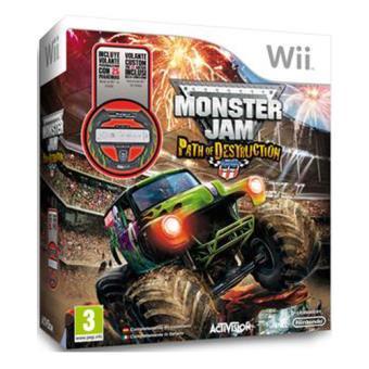 Monster Jam Path Of Destruction Volante Wii Para Los Mejores