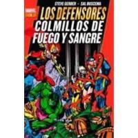 Marvel Gold. Los Defensores: Colmillos de Fuego y Sangre