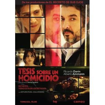 Tesis sobre un homicidio - DVD