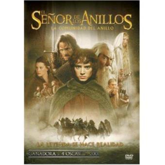 El Señor de los Anillos. La Comunidad del Anillo: Ed. Cinematográfica - DVD