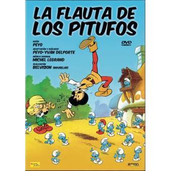 La flauta de los Pitufos - DVD