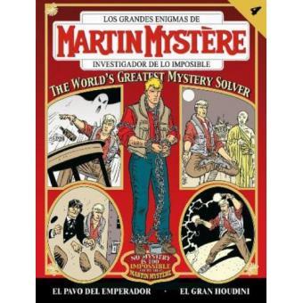 Martin mystere 3 4 El gran Houdini