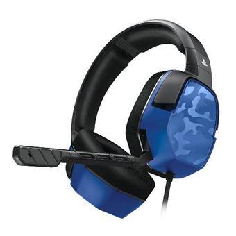 Auriculares Afterglow PDP LVL3 Azul camuflaje PS4