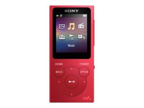 MP4 Sony NW-E394 rojo