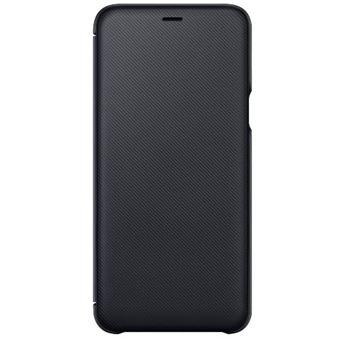 Funda Samsung Dual Layer Cover Negro para Samsung A6+