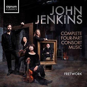 Jenkins - Complete Four-Part Consort Music - 2 CD