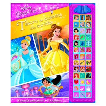 Princesas Disney: Tesoro de cuentos con sonido