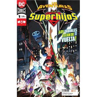 Las aventuras de los Superhijos núm. 01 grapa