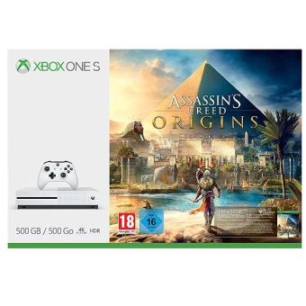 ConsolaXbox One S 500GB + Assassin's Creed Origins