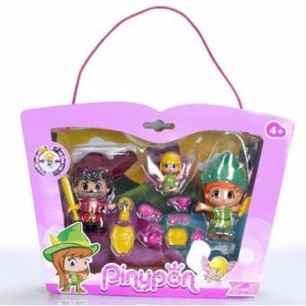 Pack figuras Pinypon Peter Pan