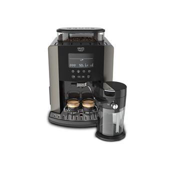 Cafetera superautomática Krups EA819E Negro