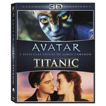 Pack Avatar + Titanic - Blu-Ray + 3D