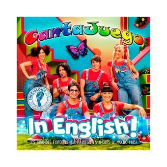 CantaJuego: In English! - DVD + CD