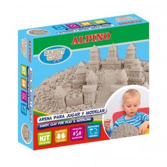Arena para jugar Alpino Sandy Clay