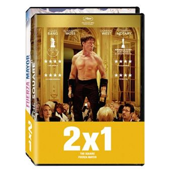 Pack The Square / Fuerza mayor - DVD