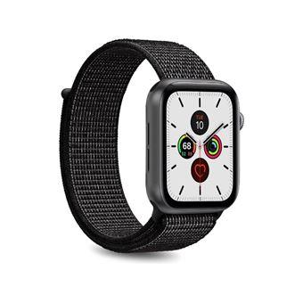 Correa deportiva Puro Negro para Apple Watch 44 mm