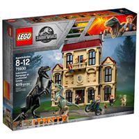 LEGO Jurassic World 75930 Caos del Indorraptor en la mansión Lockwood