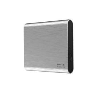 Disco duro SSD PNY Pro Elite 250GB Plata