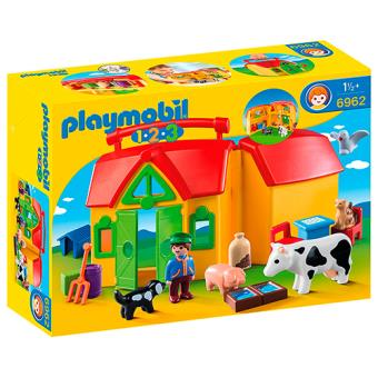 Playmobil 1.2.3 Mi primera granja