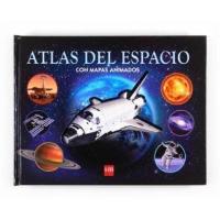 Atlas del espacio con mapas animado