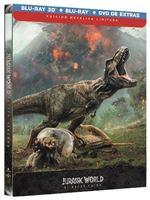 Jurassic World: El reino caído - Steelbook Blu-Ray + 3D + DVD Extras