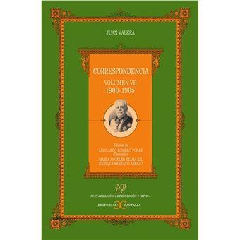 Correspondencia -  Volumen VII 1900-1905