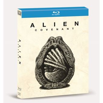 Alien Covenant - Blu-Ray  Digibook