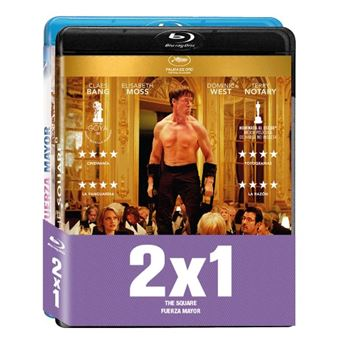 Pack The Square / Fuerza mayor - Blu-Ray