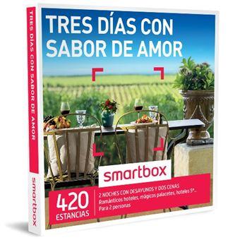 Caja Regalo Smartbox - Tres días con sabor de amor