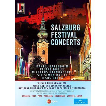Salzburg Festival Concerts - 6 DVD