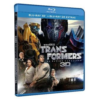 Transformers: el último caballero - 3D + Blu-Ray