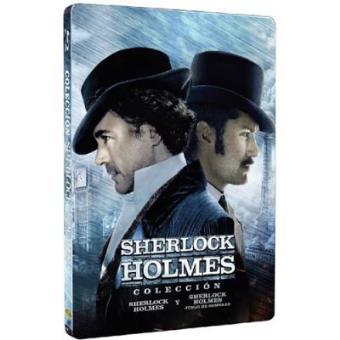 Pack Sherlock Holmes 1 y 2 - Steelbook Blu-Ray