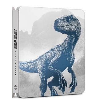 Jurassic World: El reino caído - Steelbook UHD + Blu-Ray + DVD Extras