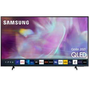 TV QLED 50'' Samsung QE50Q68A 4K UHD HDR Smart TV