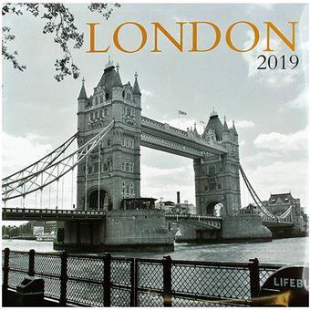 Calendario 2019 London B/W