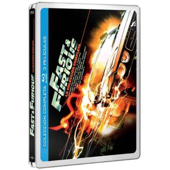 Pack A todo gas - The Fast and Furious. Saga completa - Steelbook,Blu-Ray