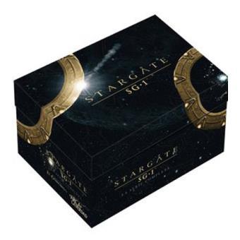 Pack Stargate SG1 Serie Completa + Stargate: El arca de la verdad + Stargate: El continuo - DVD